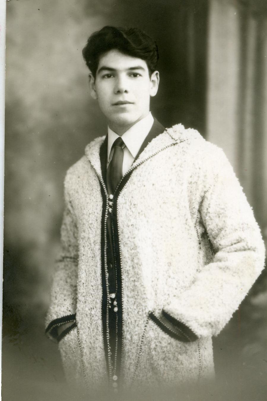 Ahmed Khiat à l'âge de 21 ans - en 1966